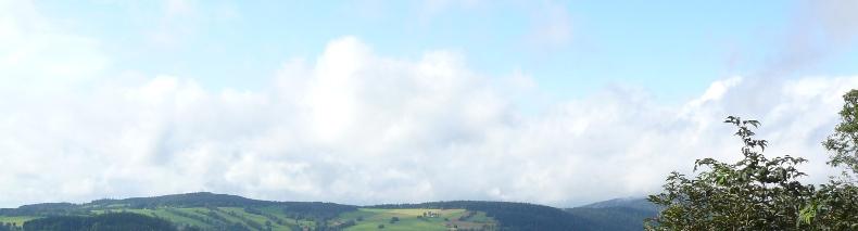 Výhled z horské chaty Šúsovka